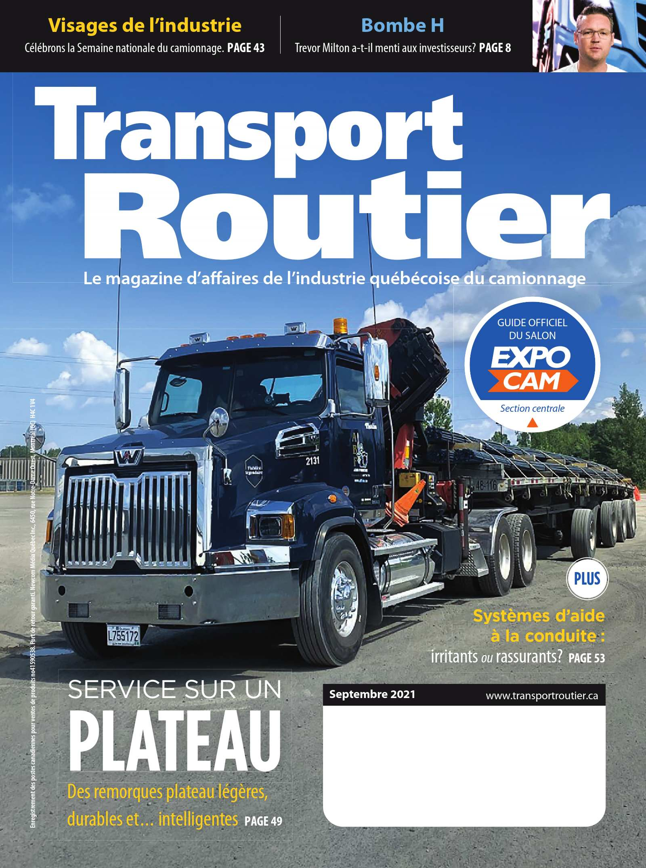 Transport routier – 1 septembre 2021