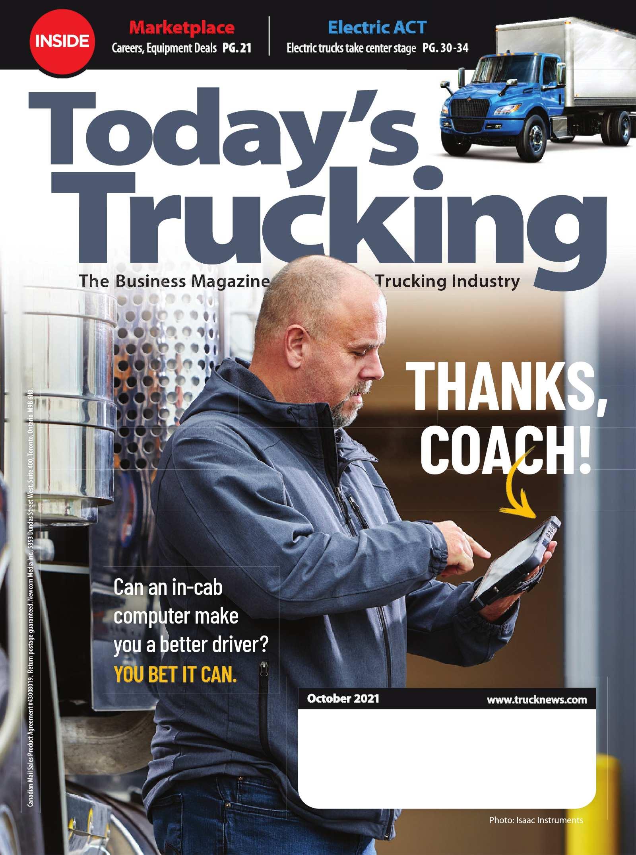 Today's Trucking – 1 octobre 2021